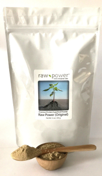Click to enlarge Raw Power Protein (Original) 16oz, Premium Protein/Superfood Powder Blend