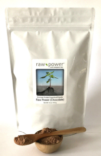 Click to enlarge Raw Power! Protein Superfood, Chocolate (16 oz, raw, certified organic)