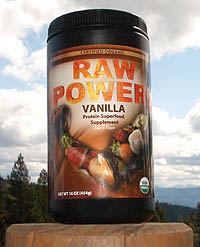 Click to enlarge Raw Power! Protein Superfood, Vanilla (16 oz, raw, certified organic)