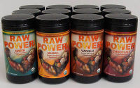 Click to enlarge Raw Power! Protein Superfood Mixed Case Special (raw, certified organic)