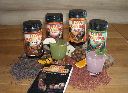 Raw Power! Protein Superfood Four-Case Special (raw, certified organic)