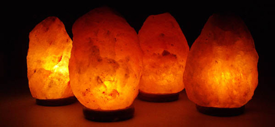 Salt Crystal Lamp (Himalayan)