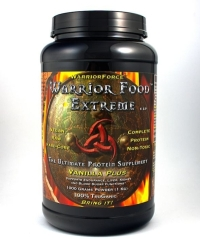 Click to enlarge Warrior Food Extreme Protein, Vanilla Plus (1000 g / 35.2 oz)