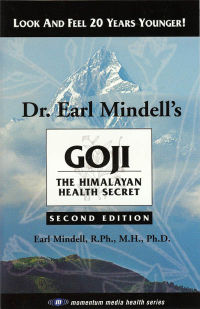 Click to enlarge Book: Goji: The Himalyan Health Secret