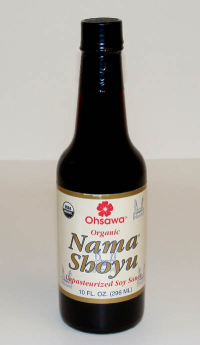 Click to enlarge Nama Shoyu, organic, unpasteurized (10 oz)