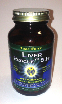 Click to enlarge Liver Rescue, capsules (120 veg-capsules)