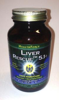 Click to enlarge Liver Rescue, capsules (120 veg-capsules)