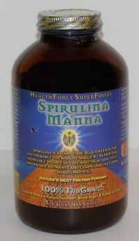Click to enlarge Spirulina Manna, powder (16 oz)