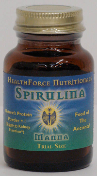 Click to enlarge Spirulina Manna, powder (Trial Size)
