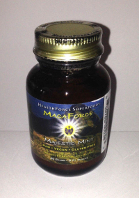 Click to enlarge Maca, MacaForce Majestic Mint, powder (Trial Size)