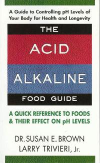 Click to enlarge Book: Acid Alkaline Food Guide