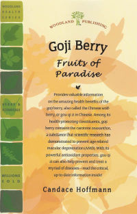 Click to enlarge Book: Goji Berry: Fruits of Paradise