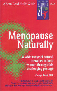 Click to enlarge Book: Menopause Naturally