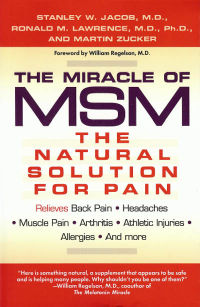 Click to enlarge Book: Miracle of MSM, The