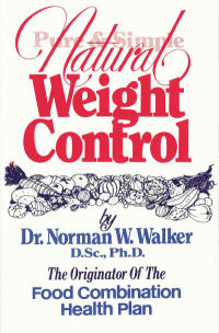 Click to enlarge Book: Pure and Simple Natural Weight Control