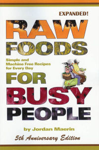 Click to enlarge Book: Raw Foods for Busy People