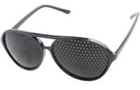Click to enlarge Natural Eyes Pinhole Glasses, full frame black
