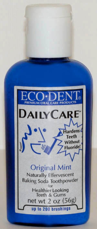 Click to enlarge Eco Dent Toothpowder - Original Mint, 2 oz.