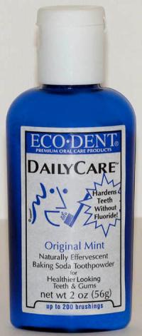 Click to enlarge Eco Dent Toothpowder - Original Mint, 2 oz.