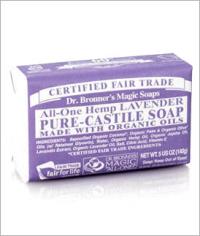 Click to enlarge Dr. Bronner's Pure Castile Bar Soap, Lavender (5 oz)