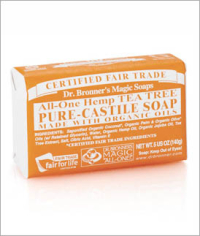 Click to enlarge Dr. Bronner's Pure Castile Bar Soap, Tea Tree (5 oz)