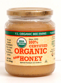 Click to enlarge Honey, YS Organic (16 oz, 100% raw, certified organic)