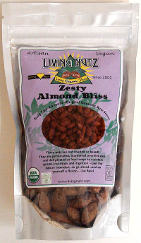 Click to enlarge Zesty Almond Bliss (3 oz, raw, organic)