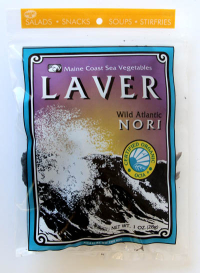 Click to enlarge Laver (Wild Atlantic Nori, 1 oz, raw, certified organic)