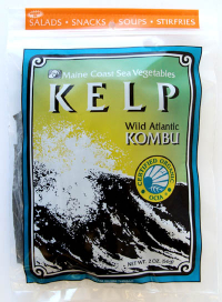 Click to enlarge Kelp (Wild Atlantic Kombu, 2 oz, raw, certified organic)