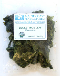 Click to enlarge Sea Lettuce Leaf (1 oz, raw, certified organic)