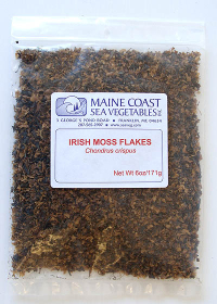 Click to enlarge Irish Moss Flakes (6 oz, raw, wildcrafted)