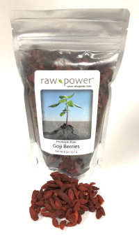 Click to enlarge Goji Berries, Raw Power (8 oz, raw, certified organic)