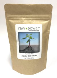 Click to enlarge Mesquite Powder, Raw Power (8 oz, raw, certified organic)