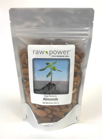 Click to enlarge Almonds, Raw Power (8 oz, Premium Raw, Shelled)
