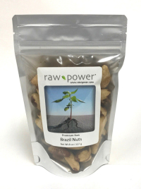 Click to enlarge Brazil Nuts, Raw Power (8 oz, raw, certified organic)