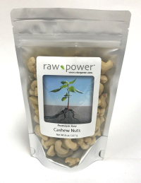 Cashews, Raw Power (8 oz, Premium Raw, Shelled)