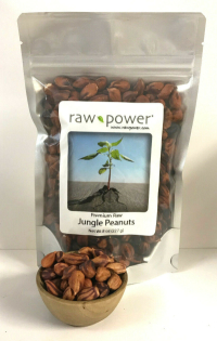 Click to enlarge Jungle Peanuts, Raw Power (8 oz, Premium)