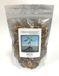 Click to enlarge Walnuts, Raw Power (8 oz, raw, shelled, certified organic)