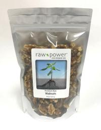 Click to enlarge Walnuts, Raw Power (8 oz, Premium Raw, Shelled)