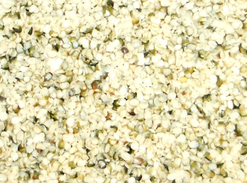 Hemp Seeds, Raw Power (8 oz, raw, certified organic)