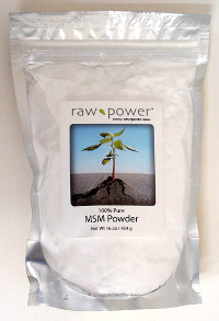 Click to enlarge MSM Powder, 100% pure, Raw Power (16 oz, made in the USA!)