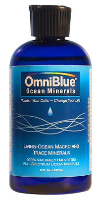 Click to enlarge OmniBlue Ocean Minerals (8 fl. oz., full-spectrum, solar-concentrated)