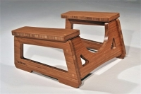 Click to enlarge GoStool, bamboo squatting stool (free shipping to the 48 states!)