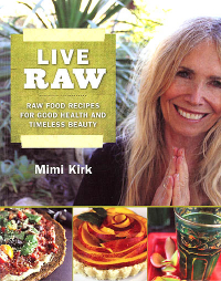 Click to enlarge Book: Live Raw: Raw Food Recipes for Good Health and Timeless Beauty