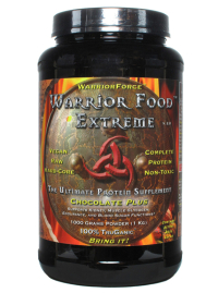 Click to enlarge Warrior Food Extreme Protein, Chocolate Plus (1000 grams / 35.2 oz)