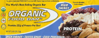 Protein Bar, 100% Raw, Cold-Processed, Organic Food Bar (2.65oz / 75g)