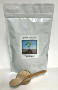 Click to enlarge Carob Powder, Raw Power (16 oz, raw, wildcrafted)
