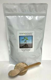 Click to enlarge Carob Powder, Raw Power (16 oz, raw, wildcrafted)