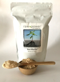 Click to enlarge Raw Warrior Brown Rice Protein Powder, Raw Power (16 oz, raw, certified organic)