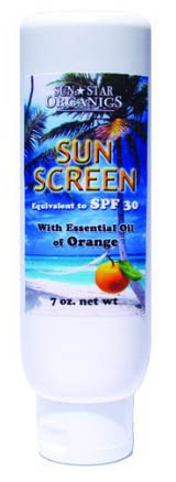 Click to enlarge Sun Screen, with MSM (7 oz)